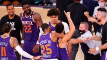 Phoenix Suns, a perfect 4-0 in the bubble, are growing and thinking playoffs