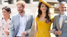 So, Meghan Markle and Prince Harry just secretly went on holiday with George and Amal Clooney