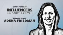 Adena Friedman joins Influencers with Andy Serwer