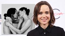 Ellen Page and wife post tasteful topless photo to celebrate Pride month