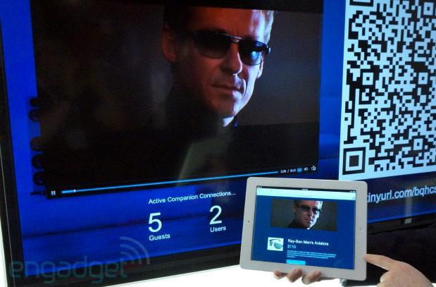 Akamai demos Hyperconnected Living Room second-screen concept at NAB
