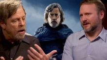 'Star Wars: The Last Jedi' interviews: Rian Johnson reveals 'terrifying' clash with Mark Hamill (exclusive)