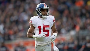 Eli, Tate hook up for wild long touchdown