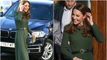 Kate Middleton vuelve a apostar por uno de sus colores favoritos