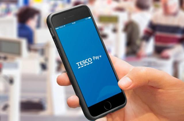 Tesco's mobile payments app is now called Pay+