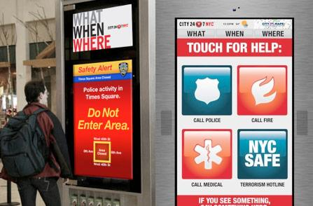 SmartScreens begin rollout to NYC payphones, City24/7 and Cisco eying expansion to additional cities