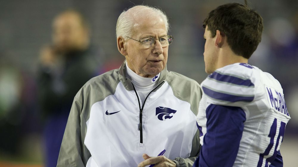 Kansas State's Bill Snyder puts cancer treatments behind him, focusing on next season