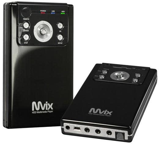 Mvix unveils pocket-sized MV-2500U HD multimedia drive
