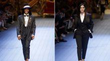 Frauenpower bei Männermodenschau: Naomi Campbell und Monica Bellucci begeistern bei Mailänder Fashion Week