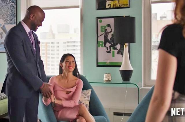 Lucy Liu and Taye Diggs fall in love in Netflix's 'Set It Up'