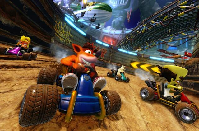 'Crash Team Racing Nitro-Fueled' revives a classic on June 21st, 2019