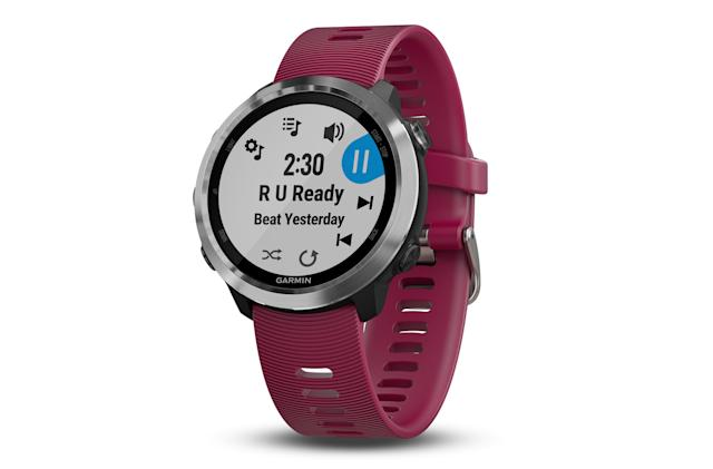 Garmin's latest smartwatch can play music during your run