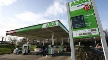 Tanker driver causes chaos at Asda filling station