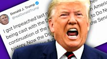 Trump slams idea of delaying Senate impeachment trial