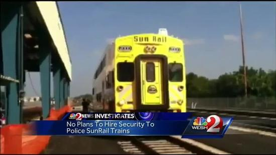 Sunrail security: How will officials keep commuters safe?