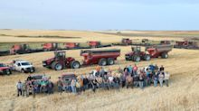 North Dakota community rallies to help farmer harvest crops after heart attack