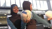 Muslim Girls Design Modest Sportswear