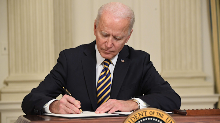 President Biden lifts Trump-era immigration ban