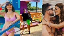 Juliana Paes curte momentos românticos com o marido em Miami