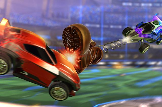 Mix up 'Rocket League' action with Rumble Mode and item trading