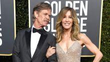 'She doesn't look like herself': Trolls are slamming Felicity Huffman's Golden Globes look