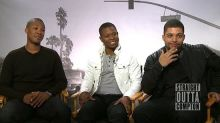 Watch the 'Straight Outta Compton' Stars Get Tested on Classic Rap Lyrics