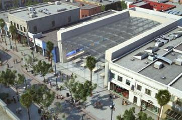 Third Street Promenade 2 Apple Store taking shape in California