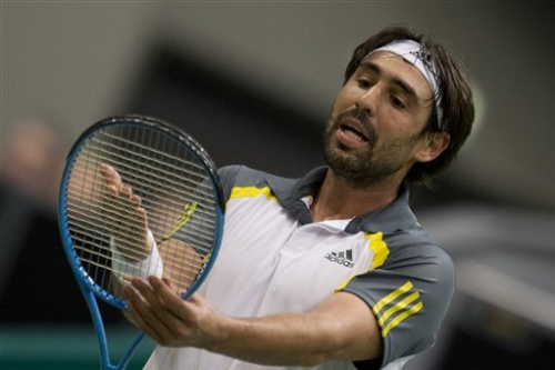 Dimitrov outlasts Baghdatis in ABN quarterfinals