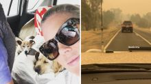 Sunrise star Sam Armytage 'thankful' to escape deadly bushfires