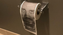 The Warriors are using toilet paper with JaVale McGee's face on it