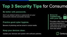 Beware of Online Threats: CenturyLink's 3 tips to keep homes & families safe