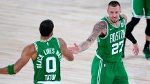 Celtics dominate Raptors as Nets, Magic clinch playoff spots