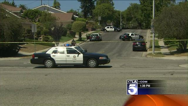Armed Burglary Suspect in Standoff with Police in Ladera Heights