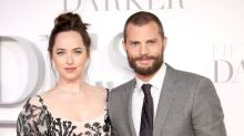 Dakota Johnson and Jamie Dornan Got 'Fifty Shades' Fit in a Trailer