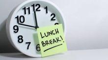 外國調查:56%打工仔Lunch break實質少於半個鐘