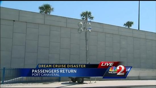 Cruise passengers return to Port Canaveral