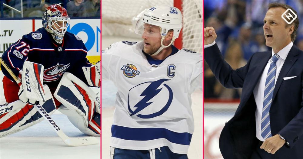 NHL awards watch: Stamkos and his Lightning coach among favorites at quarter mark