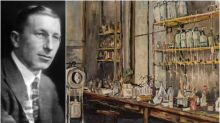 Frederick Banting's painting of the lab where he discovered insulin part of auction preview