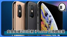 繼 Geekbench 後,安兔兔亦確認了三款新 iPhone 記憶體容量!