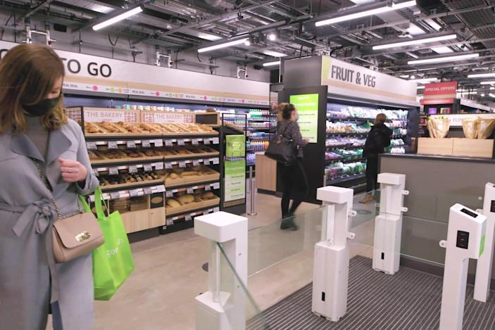 Amazon UK's first checkout-free Fresh grocery store opens in London