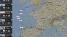 Airlines fly bizarre flight paths to avoid French airspace amid national strike