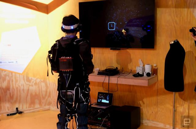 What it's like playing 'Rez Infinite' strapped into a synesthesia suit