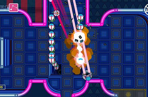 Climb the walls to save cats in Wii U shoot-em-up Scram Kitty