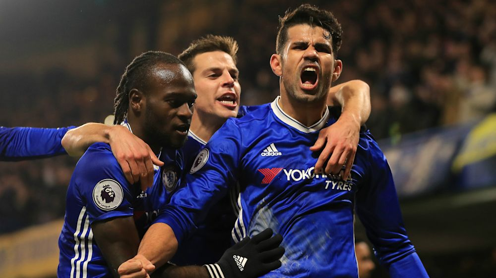 Four Chinese clubs to battle for Diego Costa this summer