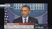 Obama: No 'ransom' for doing your job