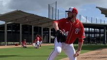 Washington Nationals' Jon Lester sees plenty of familiar faces in West Palm Beach