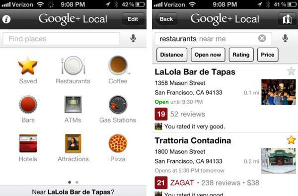 Google Places for iOS becomes Google+ Local, adds voice search in the process