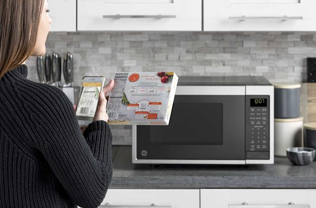 GE's Alexa microwave cooks when you scan a barcode (updated)