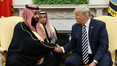 Trump dankt Saudi-Arabien für Rüstungszusammenarbeit