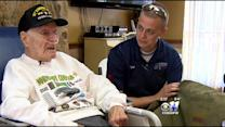 WWII Vet Gets Back Duffel Bag Lost At Normandy